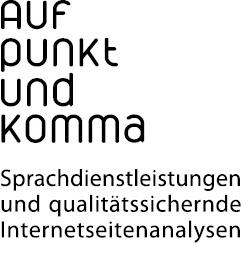 Auf Punkt und Komma - Sprachdienstleistungen und qualit�tssichernde Internetseitenanalysen